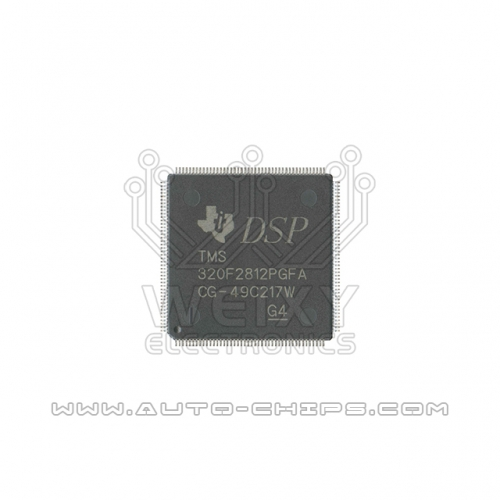 TMS320F2812PGFA chip use for automotives