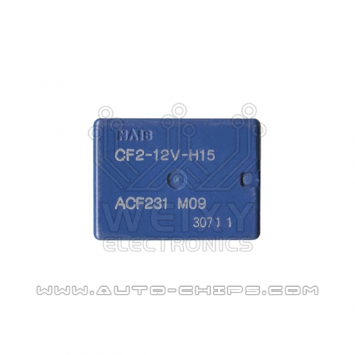 CF2-12V-H15 ACF231 relay use for automotives BCM