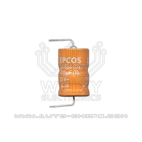 EPCOS B41684-S7477-T4 470uf 35V capacitor use for automotives ECU