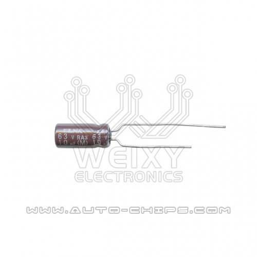 63V 10uf capacitor use for automotives