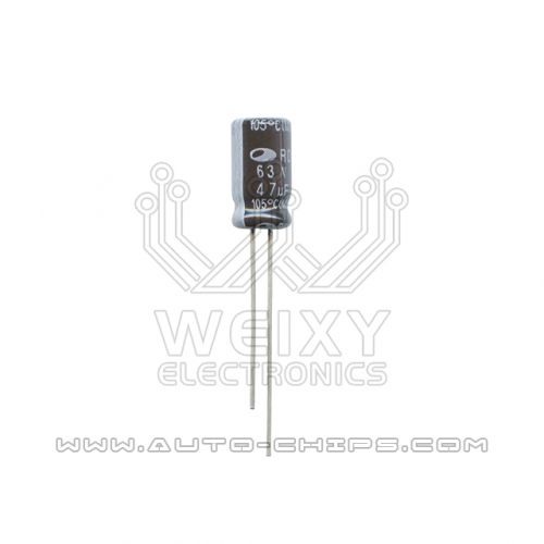 63V 47uf capacitor use for automotives