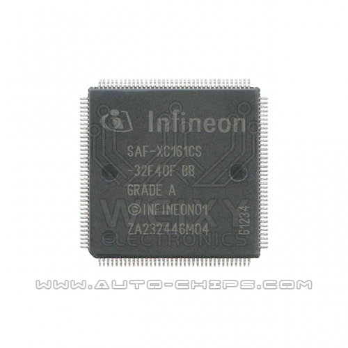 SAF-XC161CS-32F40F BB MCU chip use for automotives ECU