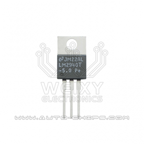 LM2940T-5.0 chip use for excavator ECM