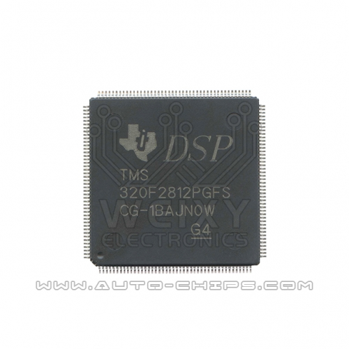 TMS320F2812PGFS MCU chip use for excavator ECM