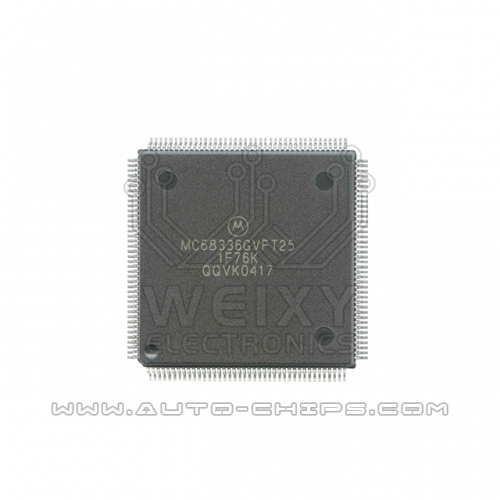 MC68336GVFT25 1F76K MCU chip use for automotives