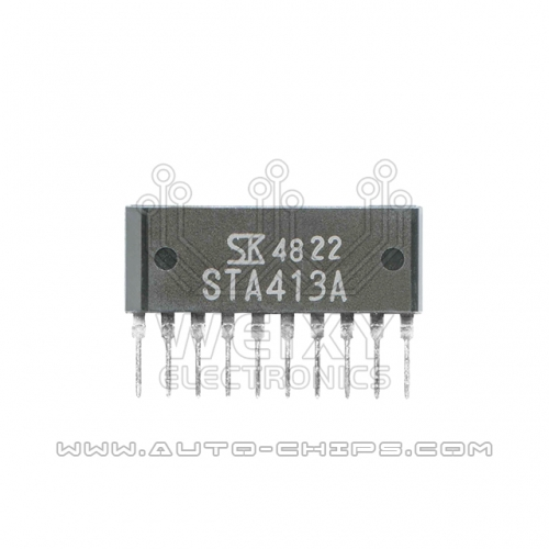 STA413A chip use for automotives ECU