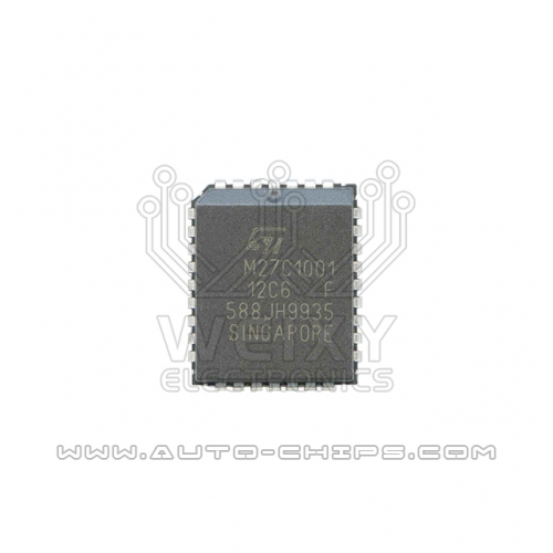 M27C1001-12C6 flash chip use for automotives ECU