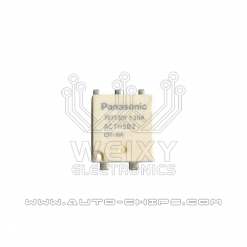 ACTH5B2 relay use for automotives BCM