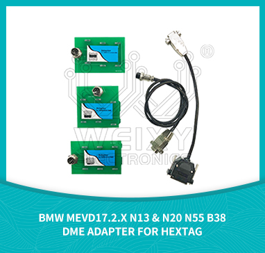 BMW MEVD17.2.x N13 & N20 N55 B38 DME adapter for HexTag HexProg
