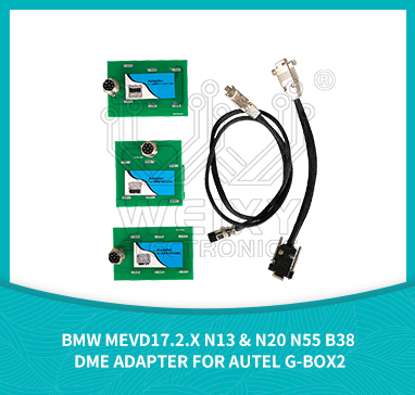 BMW MEVD17.2.x N13 & N20 N55 B38 DME adapter for AUTEL G-BOX2 by WEIXY Electronics