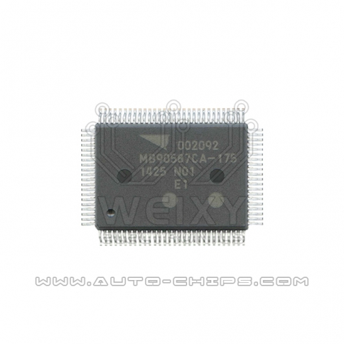MB90587CA-175 chip use for automotives dashboard