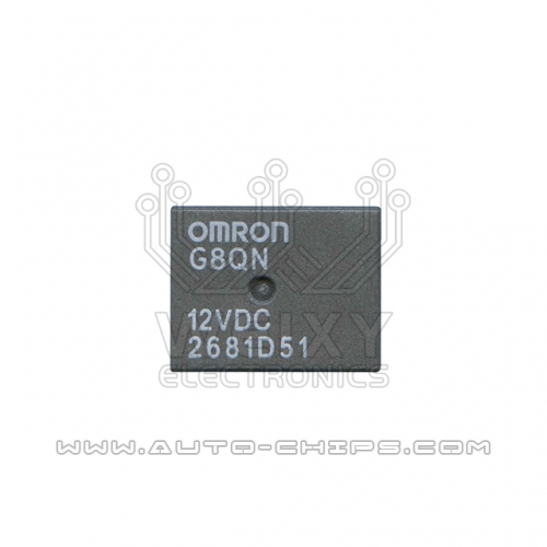 G8QN 12VDC relay use for automotives BCM