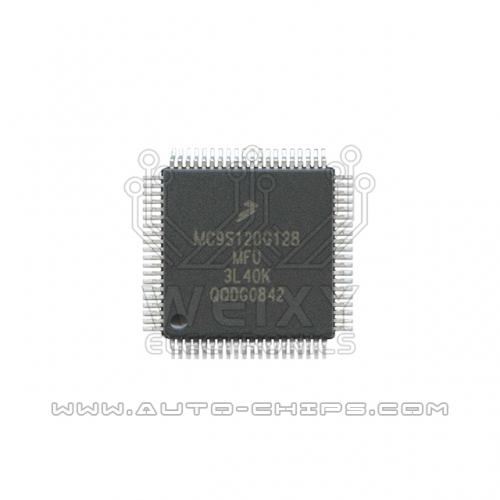 MC9S120G128MFU 3L40K MCU chip use for automotives