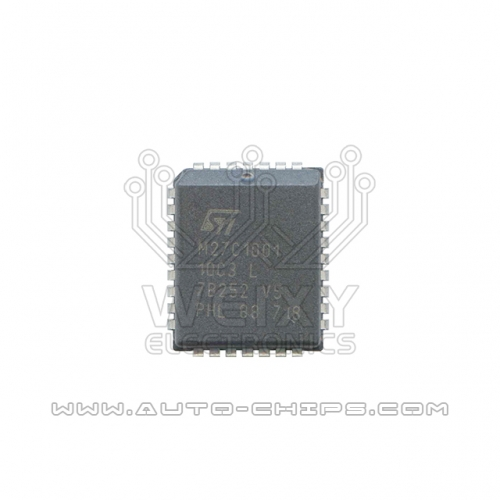 M27C1001-10C3 flash chip use for automotives ECU