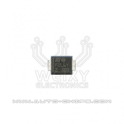 F2L6Y 2PIN chip use for automotives ECU