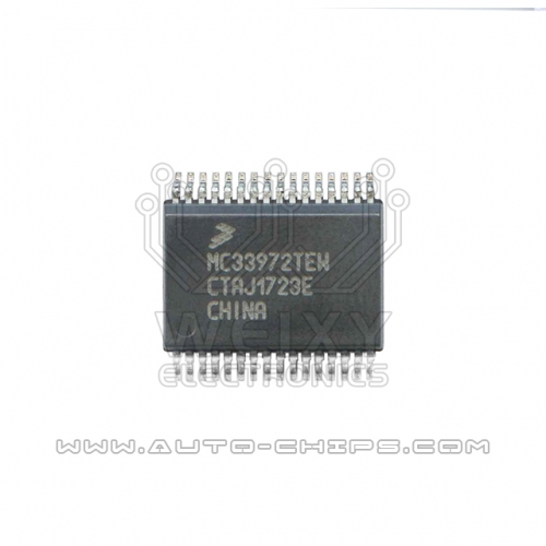 MC33972TEW chip use for automotives BCM