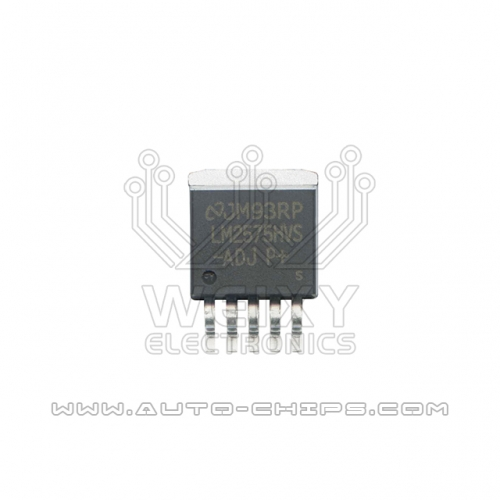 LM2575HVS-ADJ  Commonly used power driver chip for automotive dashboard