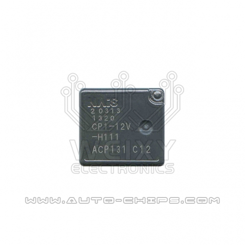 CP1-12V-H111 ACP131 relay use for automotives BCM