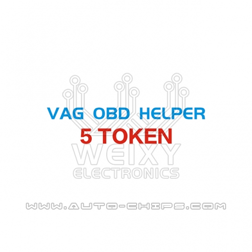 5 Token for VAG OBD Helper