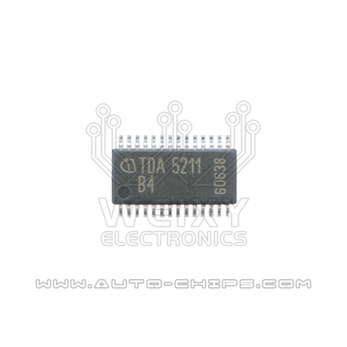 TDA5211 B4 chip use for automotives radio
