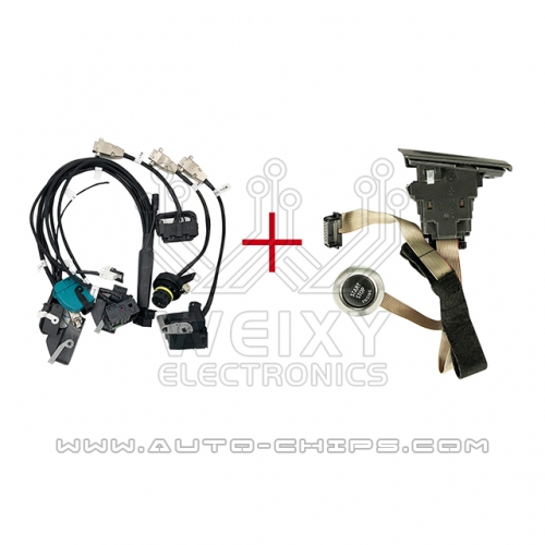 Full Test Platform Cable for BMW CAS2 & CAS3 with key card slot